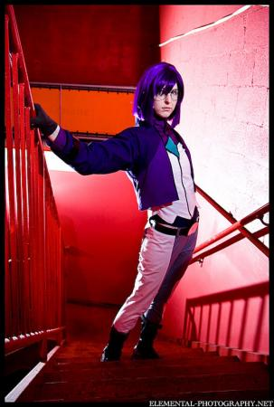 Tieria Erde from Mobile Suit Gundam 00 worn by Sailor Anime