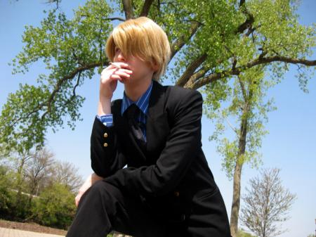 Sanji from One Piece worn by Sailor Anime