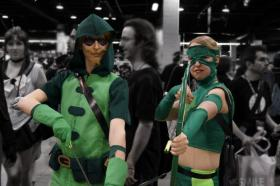 Green Arrow from Young Justice worn by Sailor Anime