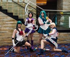Sailor Pluto from Sailor Moon S by Sailor Anime