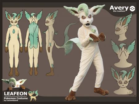Leafeon from Pokemon