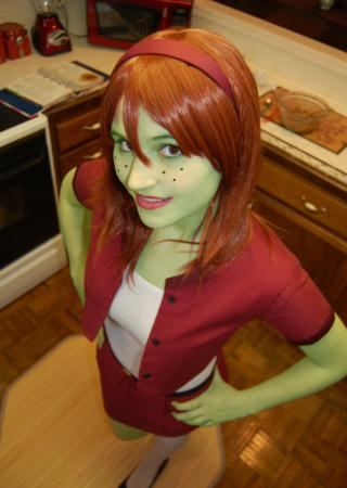 Miss Martian / M'gann M'orzz / Megan Morse from Young Justice worn by Yashuntafun