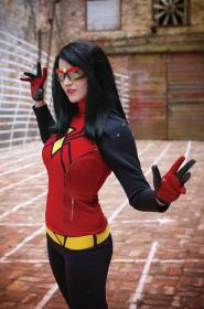 Spider-Woman from Marvel Comics worn by Yashuntafun