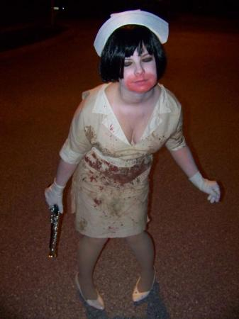 Nurse from Silent Hill 3 worn by Krissy-Chan