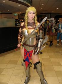 Reina / Leina from Queen's Blade: Rurou no Senshi worn by Aerial