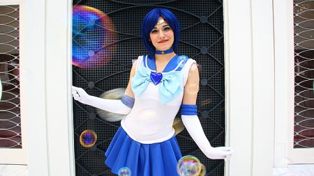 Super Sailor Mercury from Sailor Moon Super S