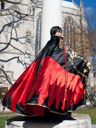 Lelouch Lamperouge from Code Geass worn by shiroi_yukiko