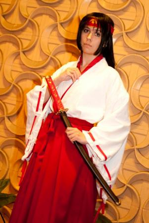 Tomoe from Queen's Blade: Rurou no Senshi worn by Varnani