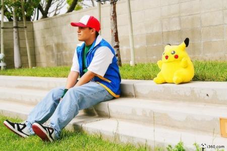 Ash Ketchum / Satoshi from Pokemon worn by Alchemist Zero