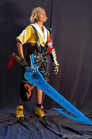 Tidus from Final Fantasy X worn by B-Shira