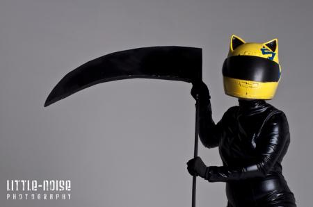 Celty Sturluson from Durarara!! worn by seraphik