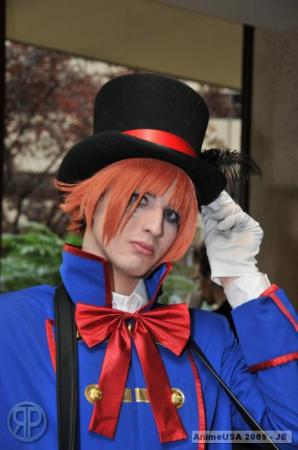 Drocell from Black Butler worn by xProfAwesome