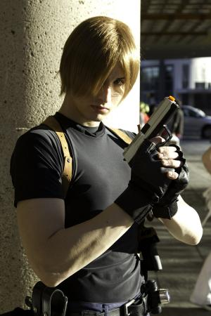 Leon Kennedy from Resident Evil 4 worn by xProfAwesome