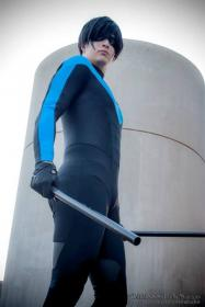Nightwing from DC Comics worn by xProfAwesome