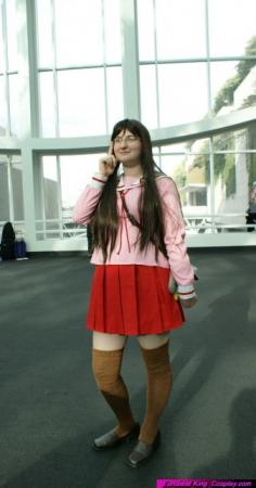 Yomi / Koyomi Mizuhara from Azumanga Daioh worn by Lallafa