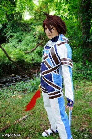 Kratos Aurion from Tales of Symphonia worn by Ion