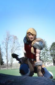 Astrid from How to Train Your Dragon 2 worn by Ion