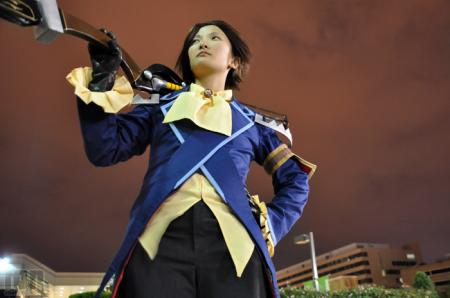 Yeager from Tales of Vesperia worn by Ion