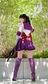 Sailor Saturn from Sailor Moon worn by shannuckles