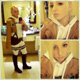 Annie Leonhardt from Attack on Titan by ShannonAlise