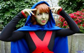 Miss Martian / M'gann M'orzz / Megan Morse from Young Justice worn by ShannonAlise