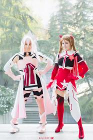 Miyoshi Karin from Yuki Yuna is a Hero worn by ShannonAlise