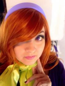 Daphne Blake from Scooby Doo worn by Chiara Scuro