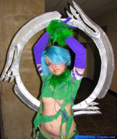 Tira from Soul Calibur 3 worn by Chiara Scuro