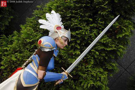 Lenneth Valkyrie from Valkyrie Profile worn by Chiara Scuro