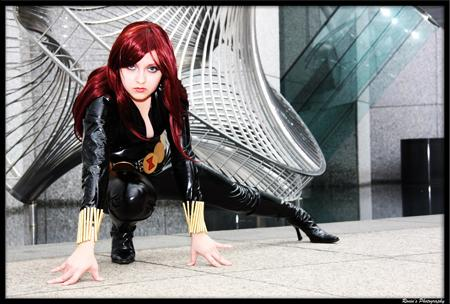 Black Widow from Marvel Comics worn by Chiara Scuro