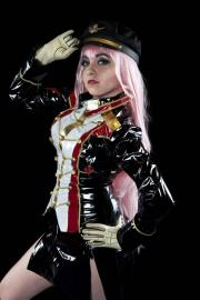 Megurine Luka from Vocaloid 2 worn by Chiara Scuro