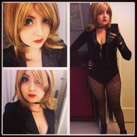 Black Canary from DC Comics worn by Chiara Scuro