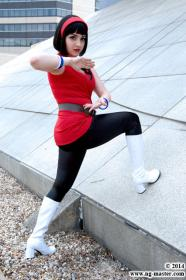 Videl Satan from Dragonball Z by Chiara Scuro