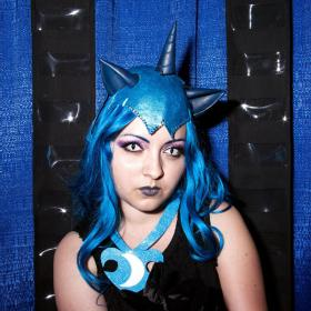 Nightmare Moon from My Little Pony Friendship is Magic worn by Chiara Scuro