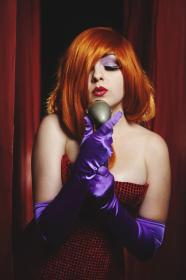 Jessica Rabbit from Who Framed Roger Rabbit? worn by Chiara Scuro