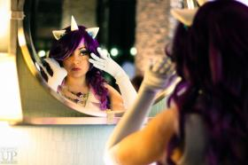 Rarity from My Little Pony Friendship is Magic worn by Chiara Scuro