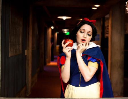 Snow White from Disney Princesses worn by Chiara Scuro