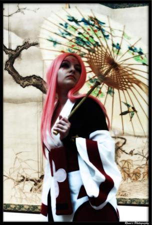 Baiken from Guilty Gear XX worn by Chiara Scuro