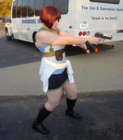 Jill Valentine from Resident Evil 3: Nemesis worn by Yoshi