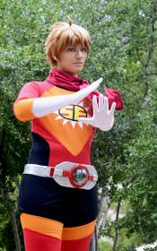 Masayoshi Hazama from Samurai Flamenco worn by Heroic