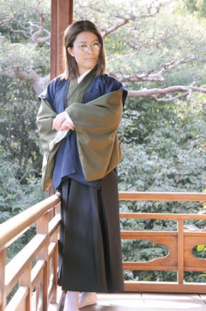 Sannan Keisuke from Hakuouki Shinsengumi Kitan worn by Shion Himemiya