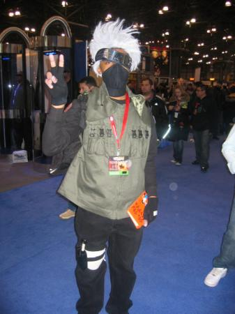 Kakashi Hatake from Naruto worn by Pikaman206