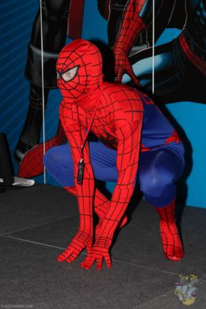 Spiderman from Spider-man worn by Pikaman206