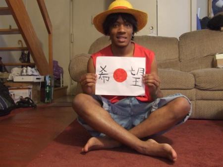 Monkey D. Luffy from One Piece worn by Pikaman206