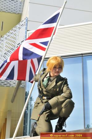 UK / England / Arthur Kirkland from Axis Powers Hetalia