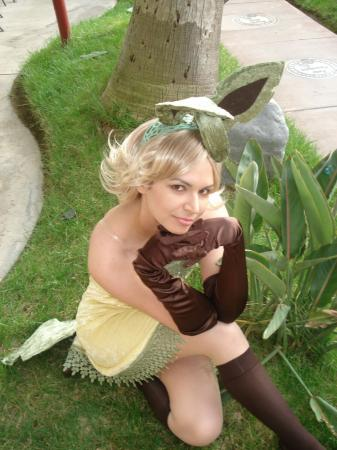 Leafeon from Pokemon worn by Princess Mekare