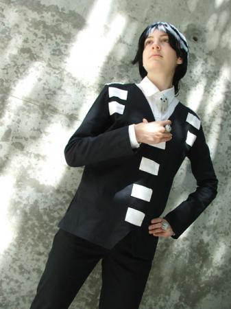 Death the Kid from Soul Eater worn by Quess