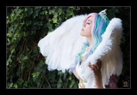Princess Celestia from My Little Pony Friendship is Magic worn by Holly Gloha