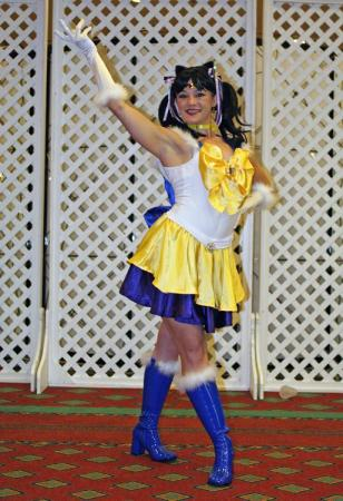 Sailor Luna from Pretty Guardian Sailor Moon worn by Holly Gloha