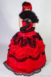 Madam Red from Black Butler worn by Holly Gloha